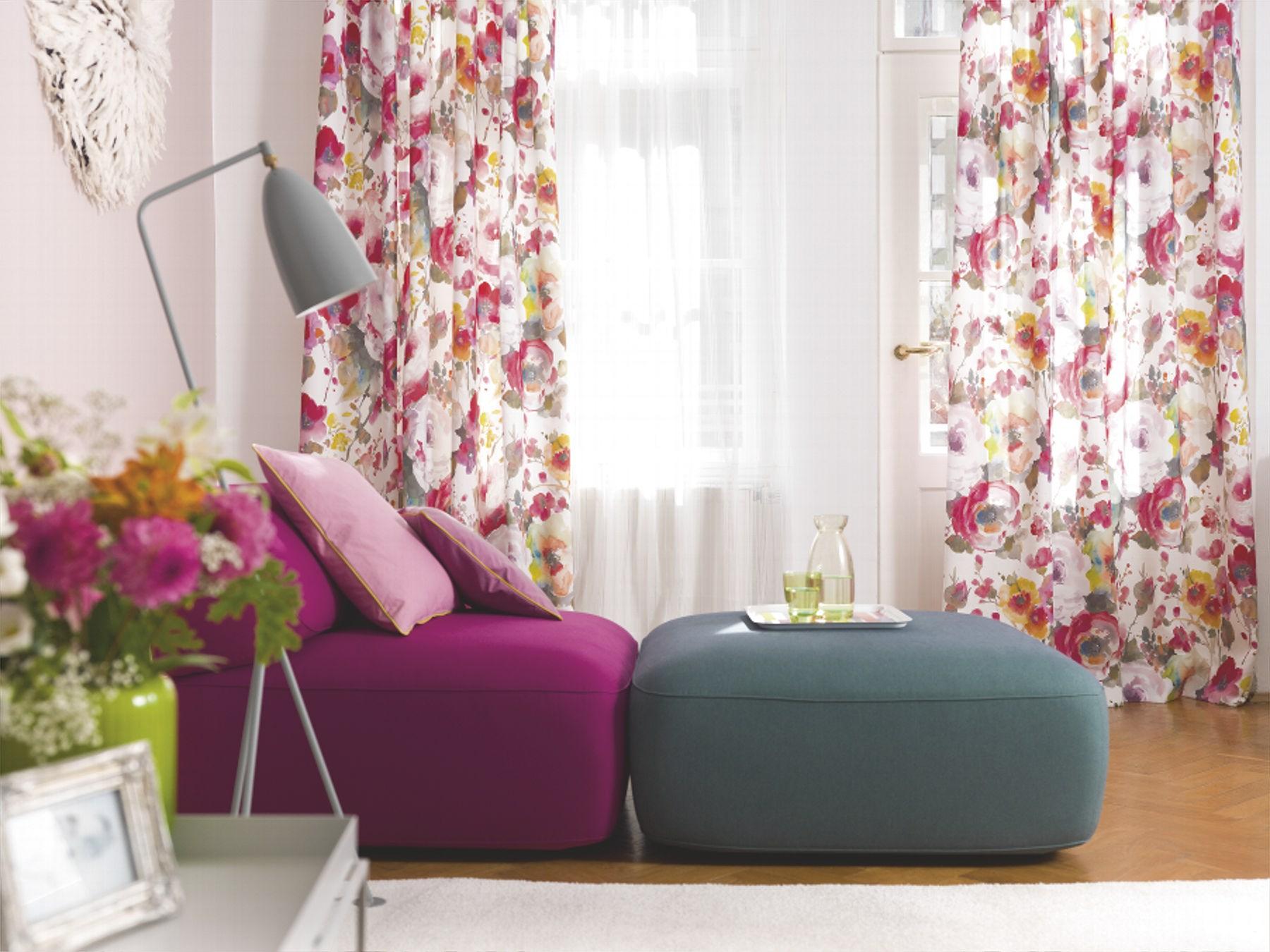 decoration fabric roses 1 8805 061 jab anstoetz fabrics. Black Bedroom Furniture Sets. Home Design Ideas